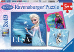 Disney Frozen 3x49pcs Ravensburger