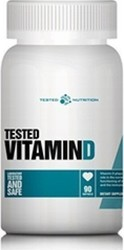 Tested Nutrition Vitamin D 90 μαλακές κάψουλες