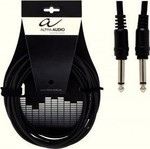 Alpha Audio Cable 6.3mm male - 6.3mm male 1.5m (190.320)