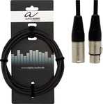 Alpha Audio Cable XLR male - XLR female 1m (190.650)