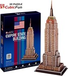 Empire State Building (USA) 39pcs Cubic Fun