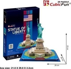 Statue Of Liberty 39pcs (C080h) Cubic Fun