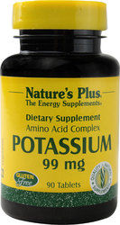 Nature's Plus Potassium 99mg 90 ταμπλέτες