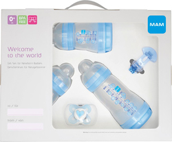 Mam Welcome To The World Gift Set - Blue