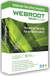 Webroot Internet Security Complete 2016 (5 Licences , 1 Year)