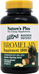 Nature's Plus Ultra Bromelain 1500mg 60 ταμπλέτες