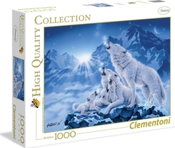 High Quality Collection: Family Of Wolves 1000pcs (39280) Clementoni