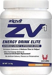 Zipvit Zv1 Energy Drink Elite 1.4kg Πορτοκάλι