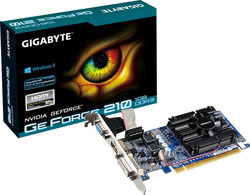 Gigabyte GeForce 210 1GB (GV-N210D3-1GI Rev 5.0)