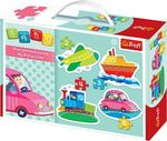 Baby Classic: Vehicles 5pcs (36057) Trefl