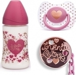 Suavinex Haute Couture Set Infinite Love, Πλαστικό Μπιμπερό 270ml
