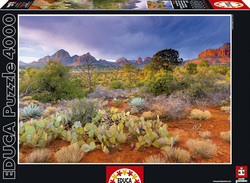 Red Rock Dusk, Arizona, Usa 4000pcs (16324) Educa