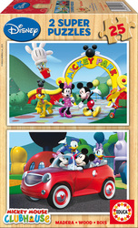 Mickey Mouse Club House 2x25pcs (13470) Educa