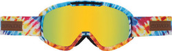 Dragon DX2 Tiedye Gold Ionized + Extra Lens Yellow Red