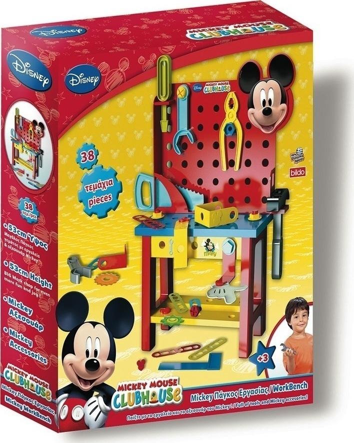84c71b9d24e Προσθήκη στα αγαπημένα menu Bildo Πάγκος με Εργαλεία Mickey