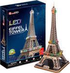 Eiffel Tower ( France ) με Φωτισμό Led 82pcs (L091H) Cubic Fun