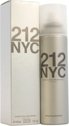 Carolina Herrera 212 NYC Deodorant Spray 150ml