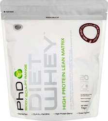 PhD Diet Whey Eco Pouch 1000gr Λευκή Σοκολάτα