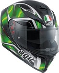 AGV K-5 Multi Hurricane Black/Green/White