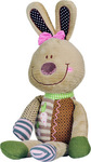 Babyono Soft Toy With Rattle - Rabbit