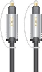 Sinox Optical Audio Cable TOS male - TOS male 1.5m (SHD3602)