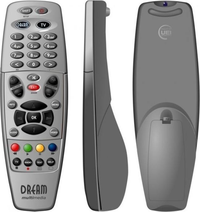 Dream Multimedia Remote For DM800HD DM500HD DM800HDse