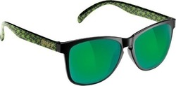 Glassy Sunhaters Deric Kronic Black/Green Mirror