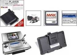 Datel Media Player Cartridge + 4GB HDD + Cable DS