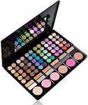 Cosmeticbay 78 Colors 3in1 Professional 60+12 Smoky Eyeshadow & 6 Blusher