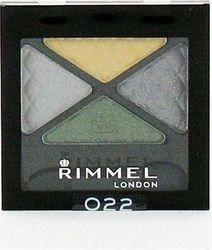 Rimmel London Glam Eyes Quad Eye Shadow 022