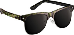 Glassy Sunhaters Shredder Olive Tortoise