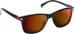 Glassy Sunhaters Biebel Polarized Black/Red Mirror