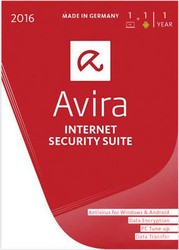 Avira Internet Security Suite 2016 (1 Licence , 1 Year)