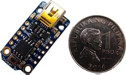 Adafruit Trinket Mini Microcontroller 3.3V Logic microUSB