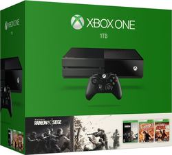 Microsoft Xbox One 1TB & Rainbow Six Siege & Rainbow Six Vegas & Rainbow Six Vegas 2