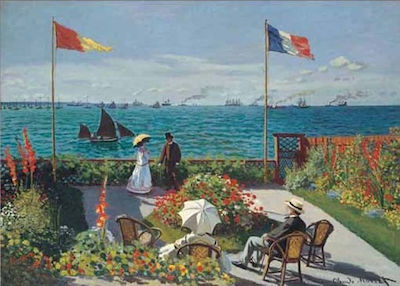 Monet : Terrace à Saint Andresse 2000pcs