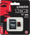 Kingston microSDXC 128GB U3 with Adapter