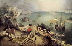Bruegel: Landscape With The Fall Of Icarus 1500pcs (16194) Ricordi
