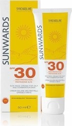 Synchroline Sunwards Face Cream for Oily and Combination Skin SPF30 50ml
