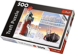 Winter 500pcs (37242) Trefl