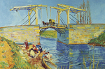 Van Gogh: Bridge Of Langlois 3000pcs (17065) Ravensburger