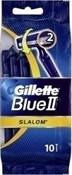 Gillette Blue 2 Slalom 10τμχ.