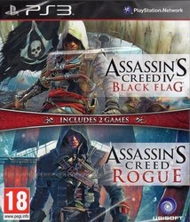 Assassin's Creed Black Flag + Rogue PS3