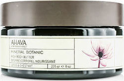 Ahava Mineral Botanic with Lotus & Chestnut Body Butter 235gr