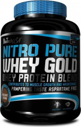 Biotech USA Nitro Pure Whey Gold 2270gr Hazelnut Cream
