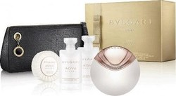 Bvlgari Aqva Divina Eau de Toilette 65ml & Body Milk 40ml & Shower Gel 40ml Soap 50gr & Cosmetic's Bag