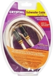 Crystal Audio Cable RCA male - RCA male 6m (CAS-SUB 6m)
