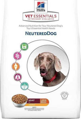 Hill's VetEssentials Adult Neutered Dog Large 12kg