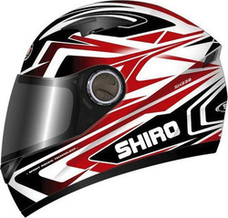 Shiro SH-338 Sepang Black/Red