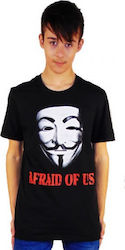 T-SHIRT ΠΑΙΔΙΚΟ TAKEPOSITION, AFRAID FOR US, 801-7006